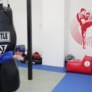 Sticker De Perete Kick Boxing