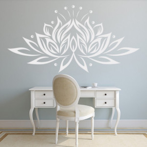Sticker De Perete Lotus Flower