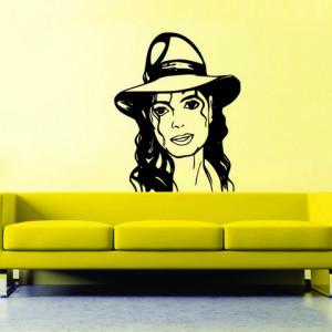 Sticker De Perete Michael Jackson 02