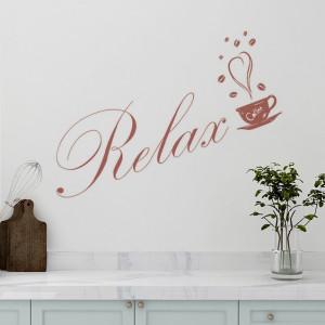 Sticker De Perete Relax Coffee