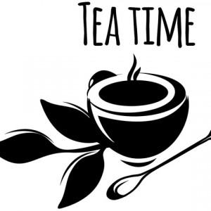 Sticker De Perete Tea Time