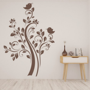 Sticker de Perete Tree Birds