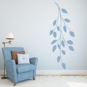 Sticker Hanging Branch Trees Leaves