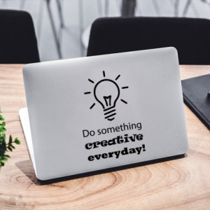 Sticker laptop - Do Something Creative