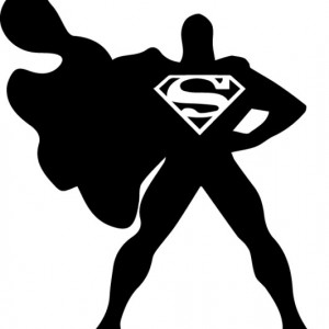 Sticker laptop - Superman
