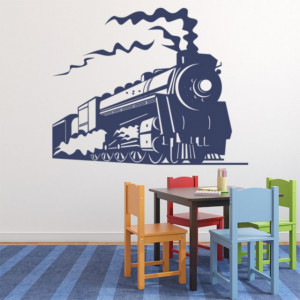 Sticker Steam Train Transport