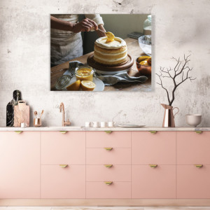 Tablou Bucatarie - Chef Cofetar