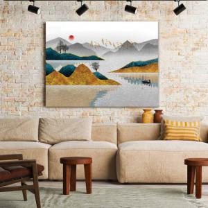 Tablou Canvas Calm Golden Valley