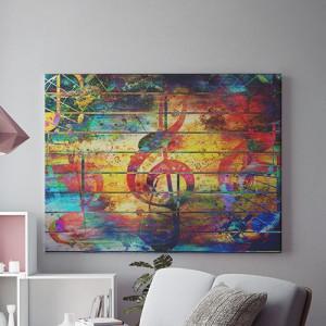 Tablou Canvas Colorful Note