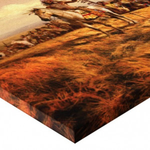 Tablou canvas efect painting - indieni