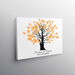 Tablou Canvas Finger Print Tree Influence