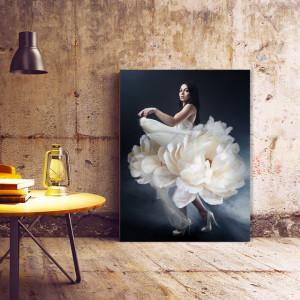 Tablou Canvas Flower Dress