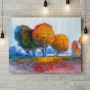 Tablou Canvas Palc de copaci
