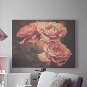 Tablou Canvas Trandafiri crem