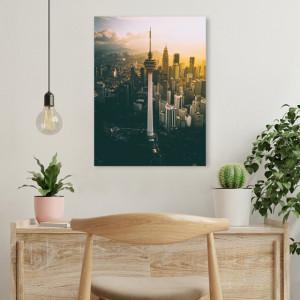 Tablou office - Urban sunset
