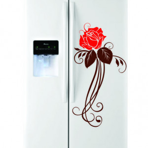 Sticker frigider - floare 09
