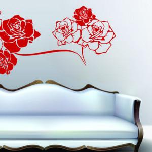 Trandafiri de perete