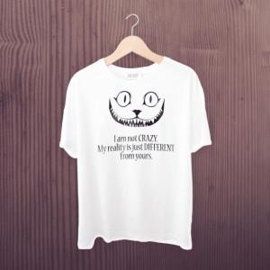 Imprimeu tricou I AM NOT CRAZY