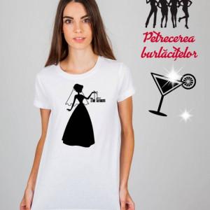 Imprimeu tricou THE GOD...Bride. :)