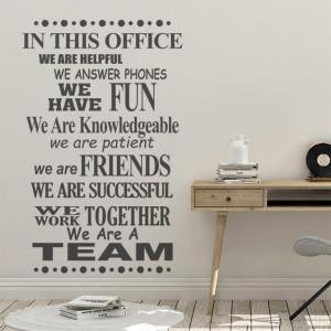 In acest birou...