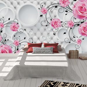 Foto tapet Pink roses