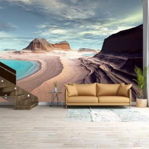 Foto tapet Solitude of the desert