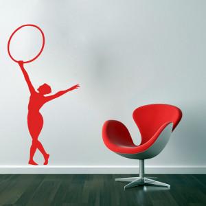 Gimnastica cu cerc