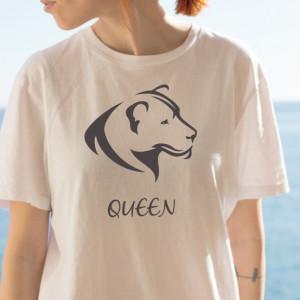 Imprimeu Tricou Dama Lioness Queen