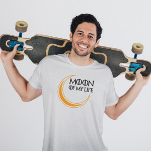 Imprimeu tricou SHE IS THE MOON OF MY LIFE