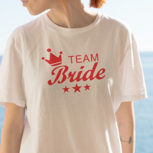 Imprimeu tricou TEAM BRIDE
