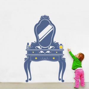 Masa cu oglinda (in doua culori)