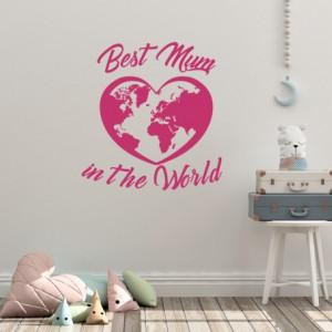 Sticker Best Mum in the World