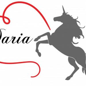 Sticker cu nume - Daria