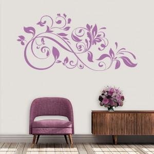 Sticker De Perete Abstract Floral De Interior
