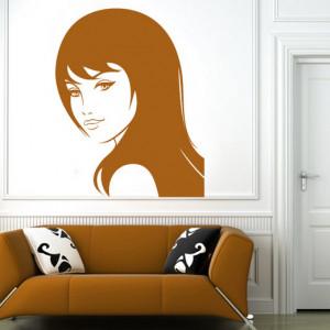 Sticker De Perete Beautiful Girl