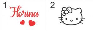 Sticker De Perete Cu Nume - Florina
