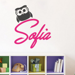 Sticker De Perete Cu Nume - Sofia