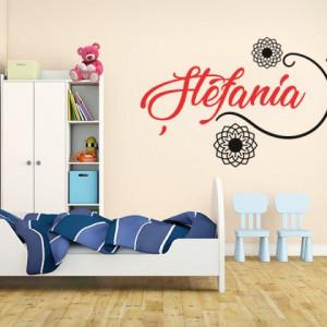 Sticker De Perete Cu Nume - Stefania