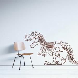 Sticker De Perete Dinozaur Schelet