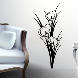 Sticker De Perete Flori De Interior