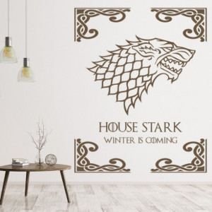 Sticker de Perete House Stark Game Of Thrones