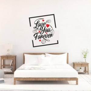 Sticker De Perete Love You Forever
