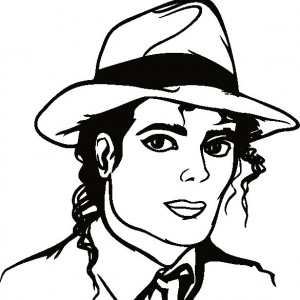 Sticker De Perete Michael Jackson 01