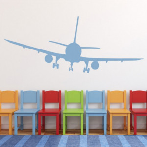 Sticker De Perete Passenger Plane Aeroplanes