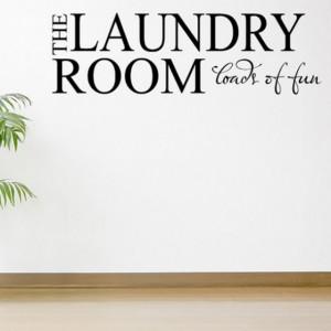 Sticker de Perete The Laundry Room