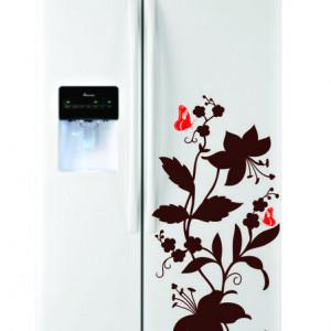 Sticker frigider - floare 02