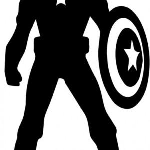 Sticker laptop - Captain America