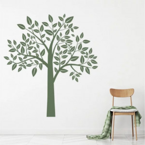 Sticker Leafy Tree Birch