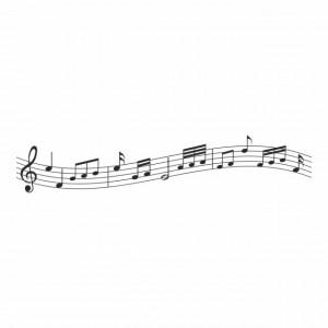 Sticker Music Sheet Notes