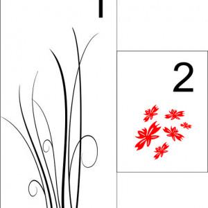 Sticker pentru Frigider - Floare 05